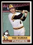1976 Topps #578  Ted Kubiak  Front Thumbnail