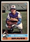 1976 Topps #608  Vic Correll  Front Thumbnail