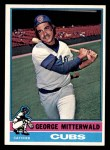 1976 Topps #506  George Mitterwald  Front Thumbnail