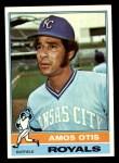 1976 Topps #510  Amos Otis  Front Thumbnail