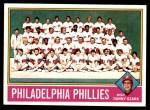 1976 Topps #384   -  Danny Ozark Phillies Team Checklist Front Thumbnail