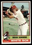 1976 Topps #23  Brian Downing  Front Thumbnail