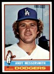 1976 Topps #305  Andy Messersmith  Front Thumbnail