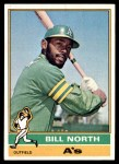 1976 Topps #33  Bill North  Front Thumbnail
