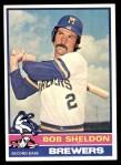1976 Topps #626  Bob Sheldon  Front Thumbnail