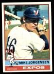 1976 Topps #117  Mike Jorgensen  Front Thumbnail