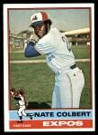 1976 Topps #495  Nate Colbert  Front Thumbnail