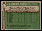 1976 Topps #511  Jamie Easterley  Back Thumbnail