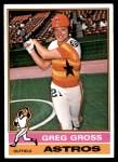 1976 Topps #171  Greg Gross  Front Thumbnail