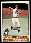 1976 Topps #366  Bobby Valentine  Front Thumbnail