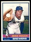 1976 Topps #377  Mike Hegan  Front Thumbnail