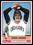 1976 Topps #132  Don Hood  Front Thumbnail