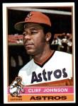 1976 Topps #249  Cliff Johnson  Front Thumbnail