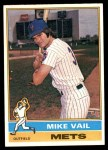 1976 Topps #655  Mike Vail  Front Thumbnail