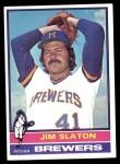 1976 Topps #163  Jim Slaton  Front Thumbnail