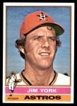 1976 Topps #224  Jim York  Front Thumbnail