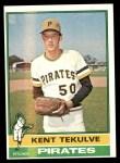 1976 Topps #112  Kent Tekulve  Front Thumbnail