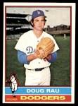 1976 Topps #124  Doug Rau  Front Thumbnail