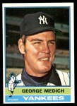 1976 Topps #146  George Medich  Front Thumbnail