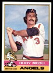 1976 Topps #254  Rudy Meoli  Front Thumbnail