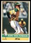 1976 Topps #115  Ken Holtzman  Front Thumbnail