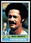 1976 Topps #225  Roy White  Front Thumbnail