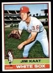 1976 Topps #80  Jim Kaat  Front Thumbnail