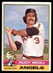 1976 Topps #254  Rudy Meoli  Front Thumbnail