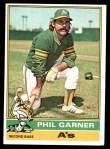 1976 Topps #57  Phil Garner  Front Thumbnail