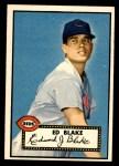 1952 Topps #144 CRM Ed Blake  Front Thumbnail