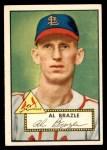 1952 Topps #228  Al Brazle  Front Thumbnail