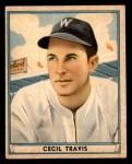 1941 Play Ball #48  Cecil Travis  Front Thumbnail