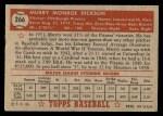 1952 Topps #266  Murry Dickson  Back Thumbnail