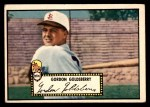 1952 Topps #46 BLK Gordon Goldsberry  Front Thumbnail