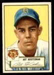 1952 Topps #238  Art Houtteman  Front Thumbnail
