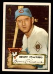 1952 Topps #224  Bruce Edwards  Front Thumbnail