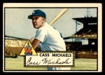 1952 Topps #178 CRM Cass Michaels  Front Thumbnail