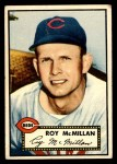 1952 Topps #137 CRM Roy McMillan  Front Thumbnail