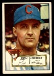 1952 Topps #204  Ron Northey  Front Thumbnail