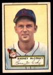 1952 Topps #300  Barney McCoskey  Front Thumbnail