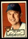 1952 Topps #153 CRM Bob Rush  Front Thumbnail