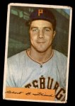 1954 Bowman #43 COR Bob Friend  Front Thumbnail