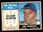 1968 Topps #364   -  Joe Morgan All-Star Front Thumbnail