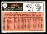 1966 Topps #509  Jake Wood  Back Thumbnail