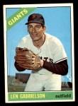 1966 Topps #395  Len Gabrielson  Front Thumbnail