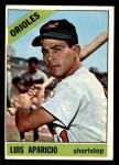1966 Topps #90  Luis Aparicio  Front Thumbnail