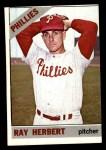 1966 Topps #121  Ray Herbert  Front Thumbnail
