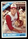 1966 Topps #140  Jim Maloney  Front Thumbnail