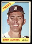1966 Topps #113  Hank Aguirre  Front Thumbnail