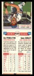 1955 Topps Double Header #33 #34 Jim Pendleton / Gene Conley  Back Thumbnail